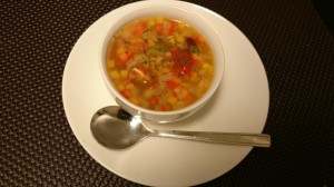 脳活性料理 具たくさん野菜スープ