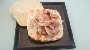 豚肉サンド